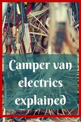 Camper van electrics explained pinterest