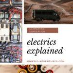 campervan electrics explained on Pinterest