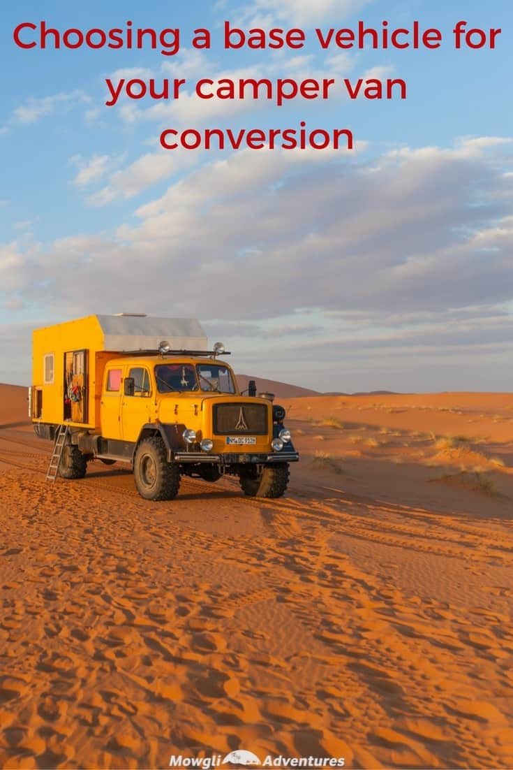 This guide on how to choose a base vehicle for your camper van conversion will help you start your build with the right van for you. Read the full article here: http://mowgli-adventures.com/how-to-choose-a-base-vehicle-for-your-camper-van-conversion #VanLife #CamperConversion