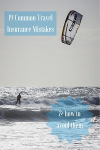 Are you properly covered for your travels? Check these 19 common travel insurance mistakes and how to avoid them before you leave #TravelTips #TravelInsurance Read the full article here: //mowgli-adventures.com/common-travel-insurance-mistakes/