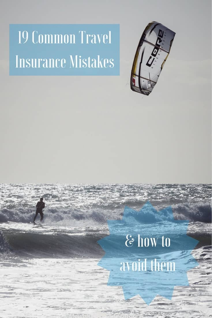 Are you properly covered for your travels? Check these 19 common travel insurance mistakes and how to avoid them before you leave #TravelTips #TravelInsurance Read the full article here: http://mowgli-adventures.com/common-travel-insurance-mistakes/