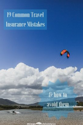 Are you properly covered for your travels? Check these 19 common travel insurance mistakes and how to avoid them before you leave #TravelTips #TravelInsurance Read the full article here: https://mowgli-adventures.com/common-travel-insurance-mistakes/