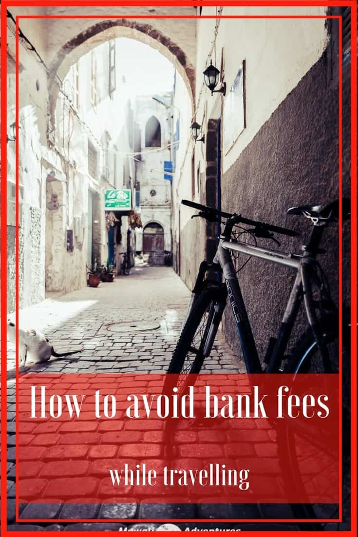 All you need to know about how to avoid bank fees while travelling. Don't line the pockets of the bankers with this simple guide. #TravelTips #TravelMoney Read the full article here: http://mowgli-adventures.com/how-to-avoid-bank-fees-while-travelling/