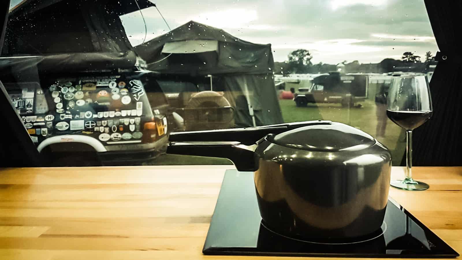 Camper kitchen accessories