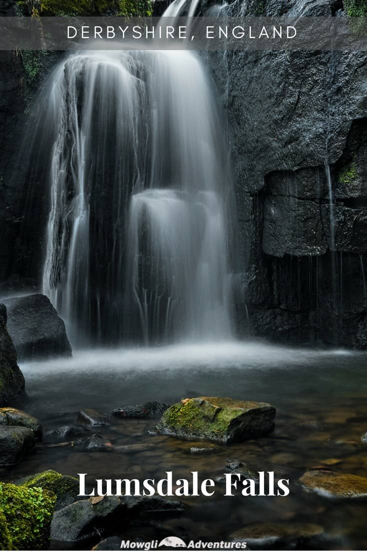 Lumsdale Falls Derbyshire Peak District_Mowgli Adventures_Pin #1