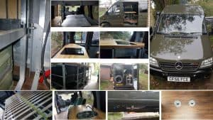 How to register your converted camper van with the DVLA - photographic evidence