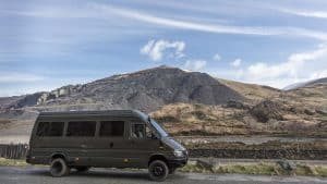 Mowgli Adventures 4x4 sprinter van conversion tour - Baloo the 4x4 Mercedes Sprinter camper van