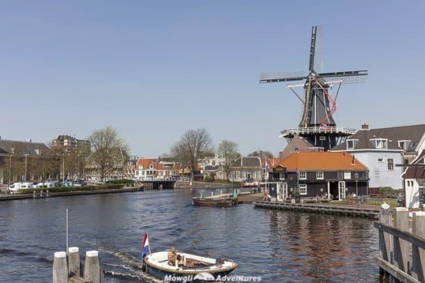 Things to do in the Netherlands -Haarlem Molen De Adriaan Windmill