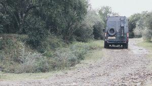 Driving in Uruguay - gravel tracks