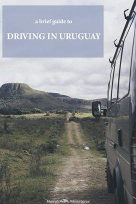 Driving in Uruguay