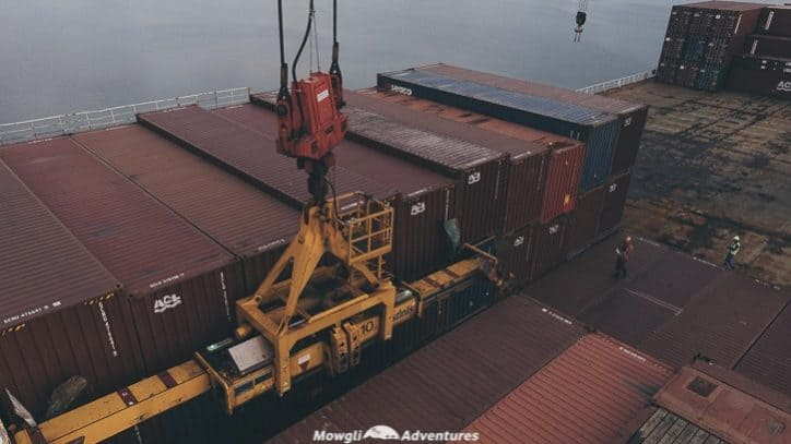 How to ship a vehicle from Europe to South America