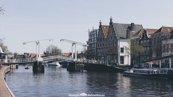 Netherlands road trip itinerary Haarlem canals