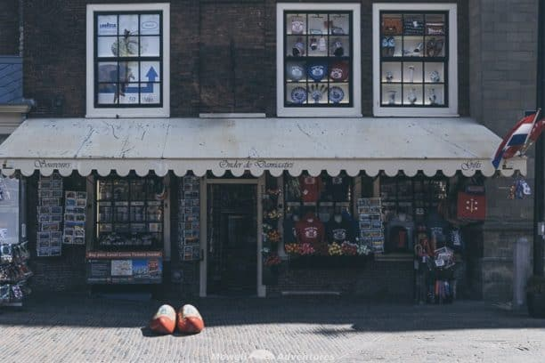 Netherlands road trip itinerary Haarlem-shops around Grote Markt