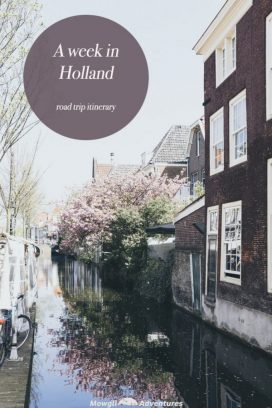 Netherlands road trip itinerary on Pinterest