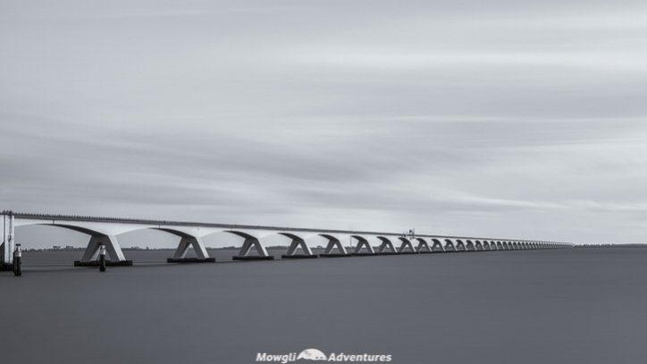 Netherlands road trip itinerary zeelandbrug bridge