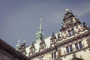 One day in Hamburg - Rathaus Town Hall