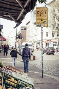 One day in Hamburg - Reeperbhan district
