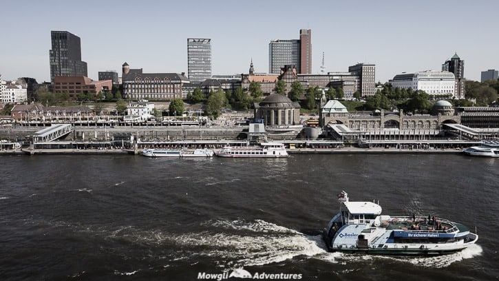 One day in Hamburg - a brief guide. Known as the gateway to the world, Hamburg is touted as Germany's hip 2nd city. City skyline from a harbour tour