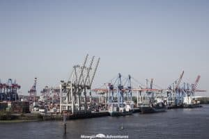 One day in Hamburg - commercial port tour