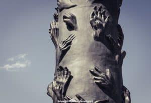 One day in Hamburg - sculptures at St Nikolai