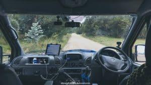 Uruguay travel itinerary beaches - driving