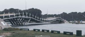 Uruguay travel itinerary beaches - wavy bridge