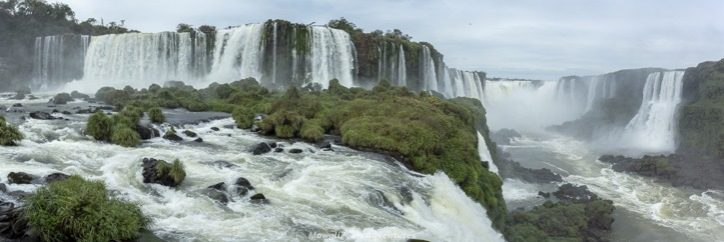 Visiting Iguazu Falls guide - Brazil panoramic views