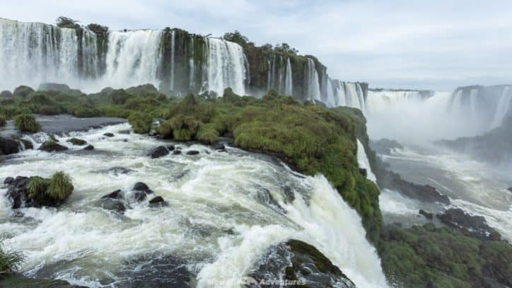 Visiting Iguazu Falls guide - Brazil views
