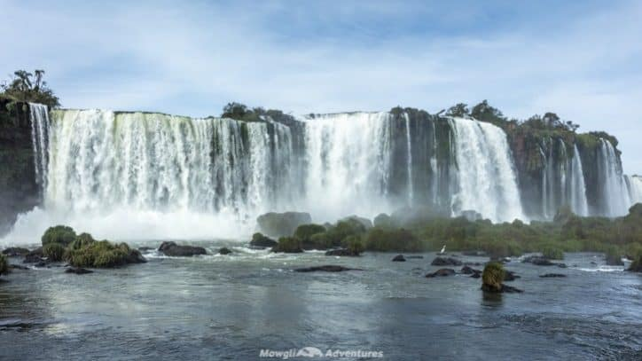 Visiting Iguazu Falls guide - Brazil walkway