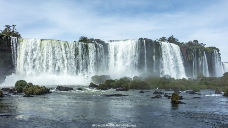 Visiting Iguazu Falls guide - Brazil walkway