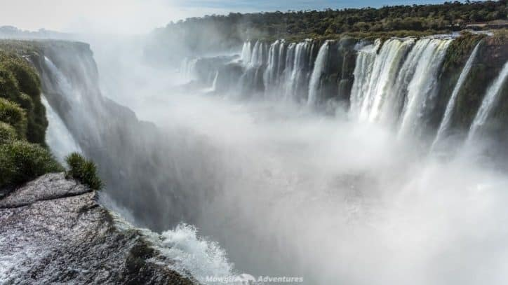 Visiting Iguazu Falls guide - Devils Throat