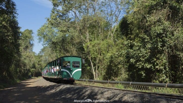 Visiting Iguazu Falls guide - Jungle Train
