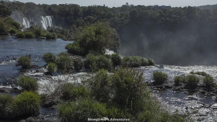 Visiting Iguazu Falls guide - upper trail