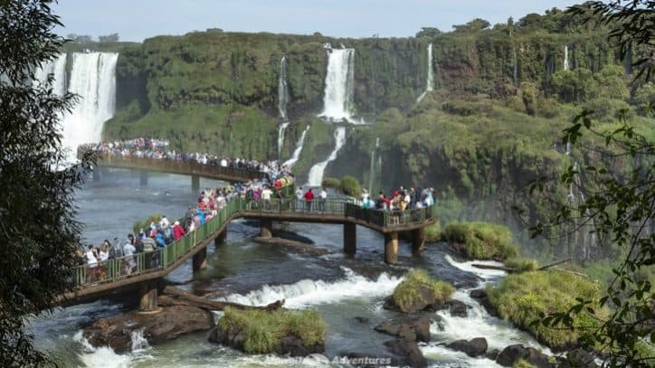 Visiting Iguazu Falls guide - when to visit