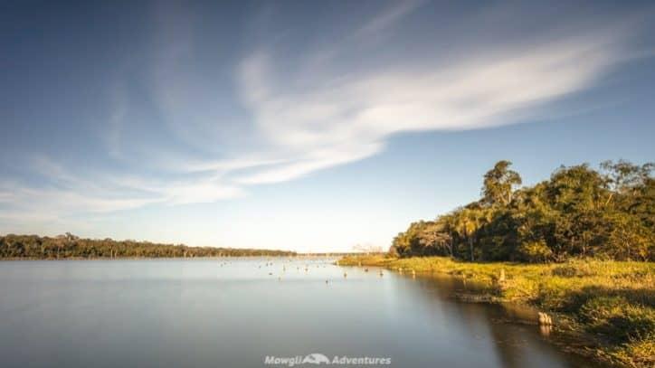 Itaipu Ecological Reserves limoy lake