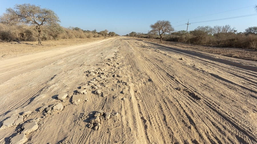 Driving the Trans-Chaco Highway in Paraguay