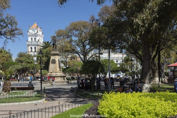 Things to do in Sucre - Plaza 25 de Mayo