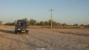 good condition Trans-Chaco Highway in Paraguay