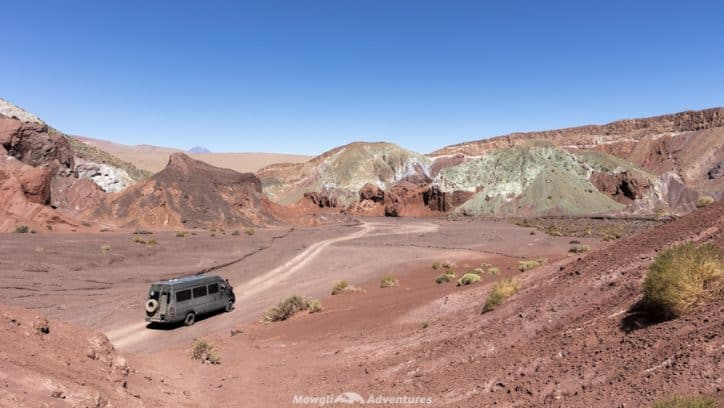 things to do in San Pedro de Atacama - Domeyko Mountains Rainbow Valley