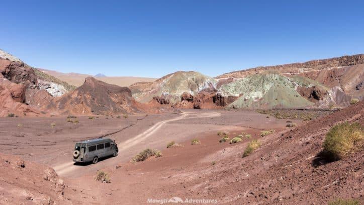 things to do in San Pedro de Atacama - Domeyko Mountains Rainbow Valley
