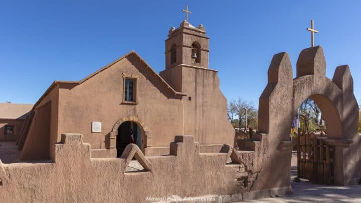 things to do in San Pedro de Atacama - adobe church
