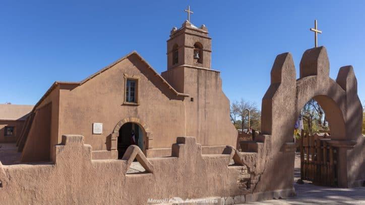 things to do in San Pedro de Atacama - adobe church