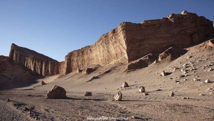 things to do in San Pedro de Atacama - valle de la luna ampitheatre