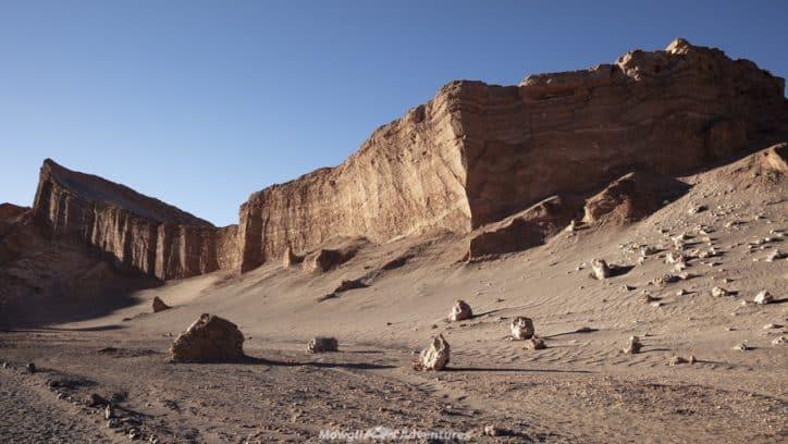 things to do in San Pedro de Atacama - valle de la luna ampitheatre