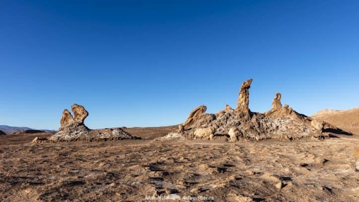 things to do in San Pedro de Atacama tres marias valle de la luna