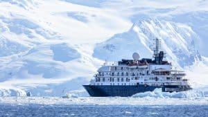 Antarctica on an expedition cruise - Island Sky