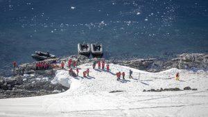Antarctica on an expedition cruise - shore landings