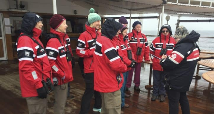 How to help make a difference while on an cruise in the Southern Ocean by getting involved in Citizen Science projects in the Antarctica.