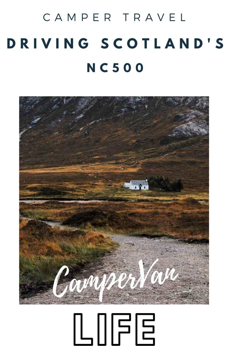 Pin image for drivng the NC500 by campervan