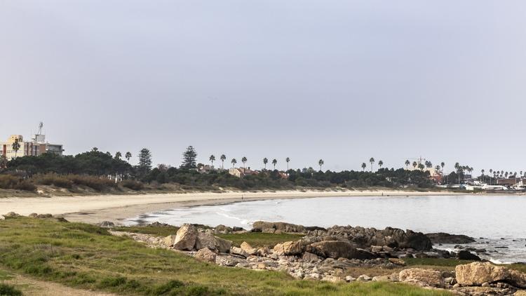 Playa Verde beach Montevideo Uruguay